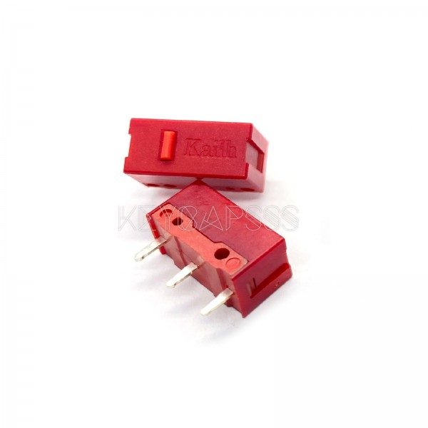 Kailh GM 4.0 Red 60M Micro Switch (2 PCS) for Gaming Mouse
