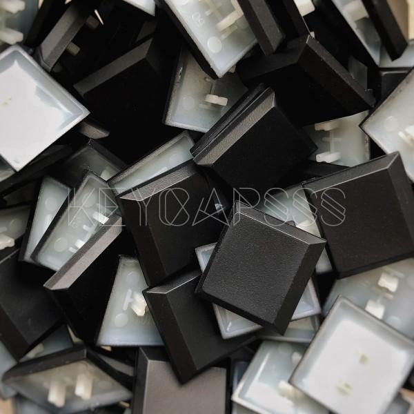 Kailh Low Profile Keycaps Blank Black 1U