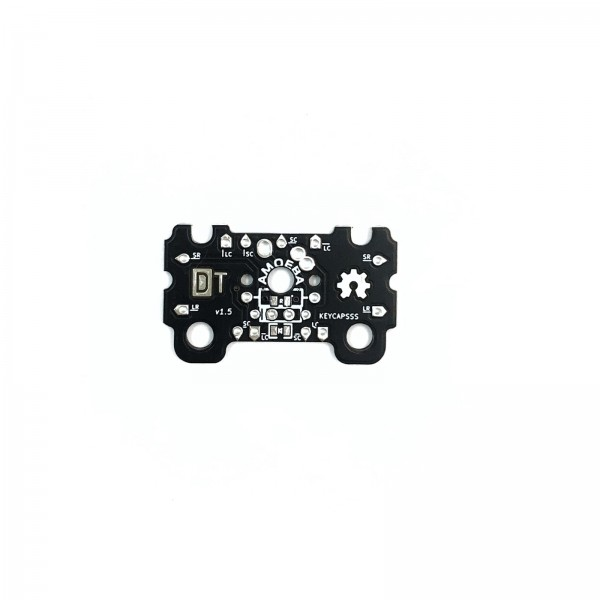 Amoeba Single-Switch PCB 2U with stabilizer support
