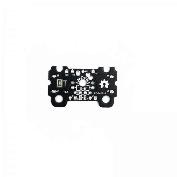 Amoeba Single-Switch PCB 2U with stabilizer support