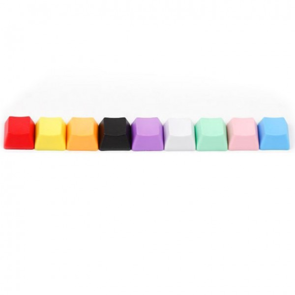OEM Profile Blank PBT 1U Keycaps for MX Switches