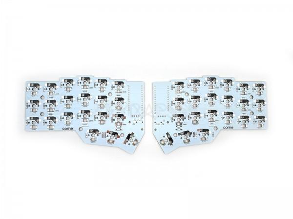 Corne Split Keyboard PCB - Kailh Hot Swap MX - CRKBD Mini-E 2x PCS White