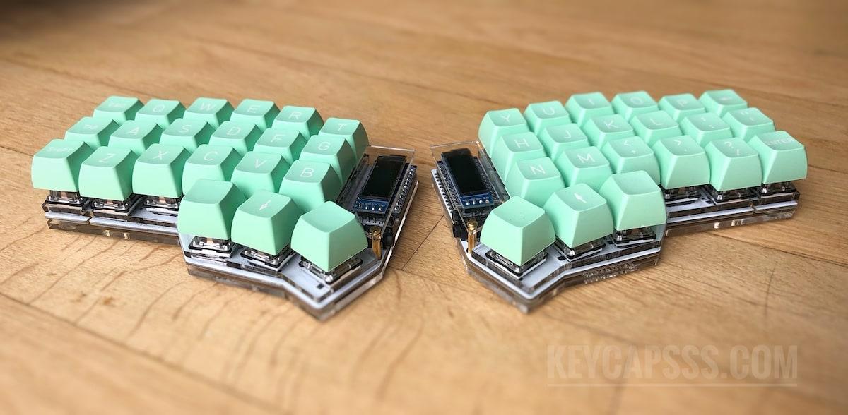 Corne Split Keyboard (crkbd, helidox) Acrylic Plate Case