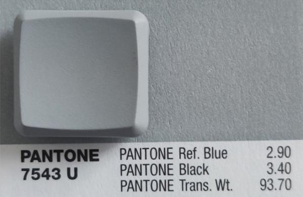 MBK Dye Color Choc Low Profile Keycap Gray