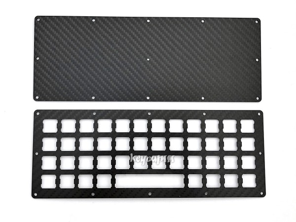 Ortholinear Keyboard Plate