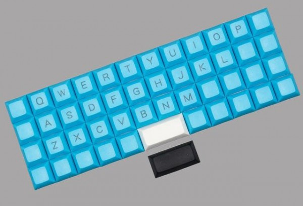 DSA Planck Keycap Set - 46x 1U / 2x 2U Keys Ortholinear