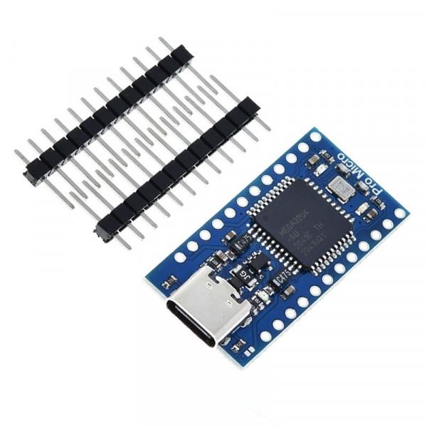 Pro Micro USB-C 5V 16MHz ATmega32u4 Microcontroller