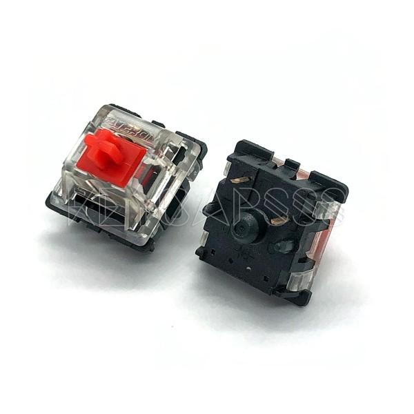 Gateron Keyboard Switch 5 Pin Red