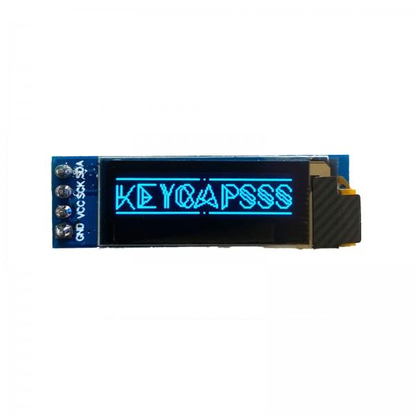 0.91 OLED LCD Display 128x32 SSD1306 I2C Blue