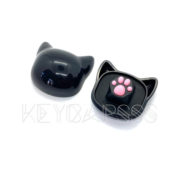 Kitty Paw Artisan Keycap - ZOMO Cat Plastic keycap