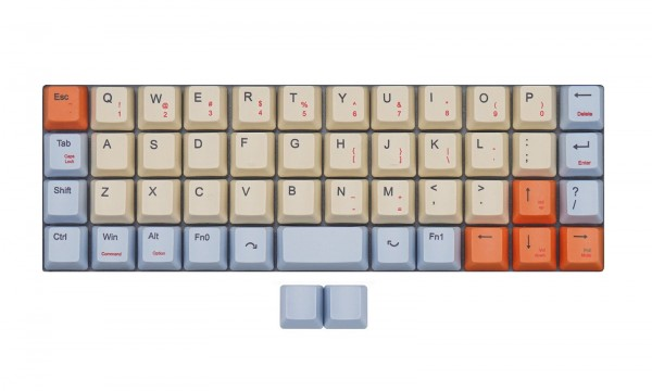 OEM 40% Dye Sub Keycap Set for Ortholinear Keyboards (Planck)