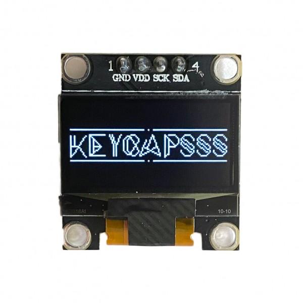 0.96 OLED LCD Display 128x64 SSD1306 I2C White
