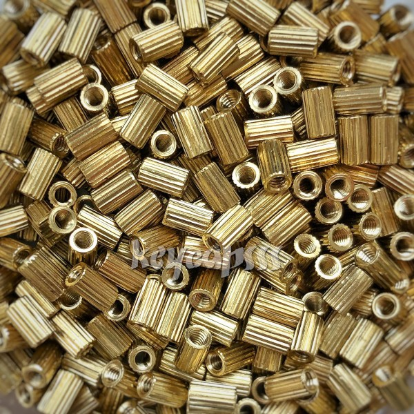 M2 5mm Standoff Spacer Brass Round Female