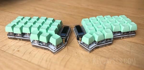 CRKBD / Corne / Helidox Acrylic Split Keyboard Case