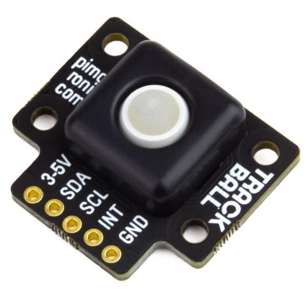 Pimoroni Trackball Breakout RGB LED I2C Front