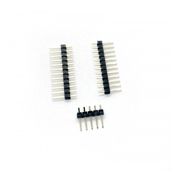 Pin Header 2x12 pins, 1x 5 pins