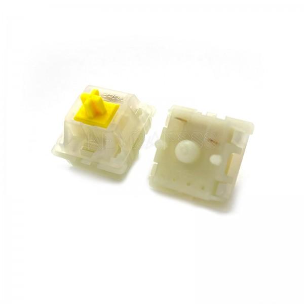 Gateron Milky Switch 5 Pin KS-3 Yellow