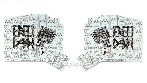 ErgoDash Mechanical Split Keyboard PCB MX