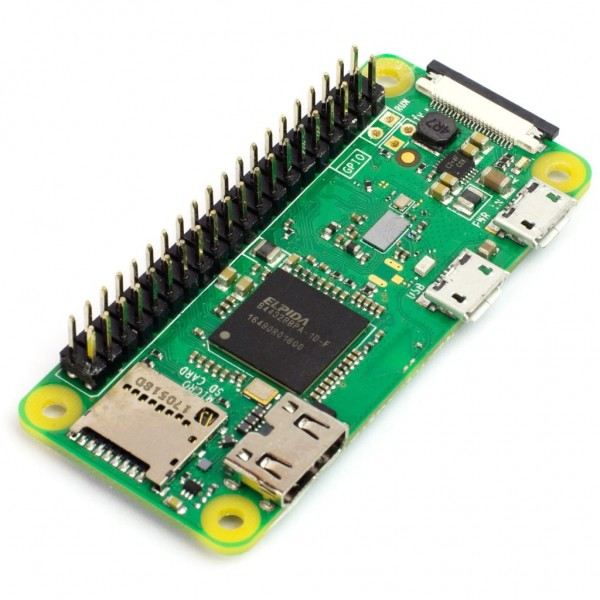 Raspberry Pi Zero WH (pre-soldered)