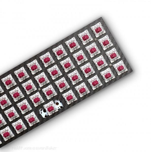 Planck-compatible Carbon Top Plate for LOW-PRO Case Planck