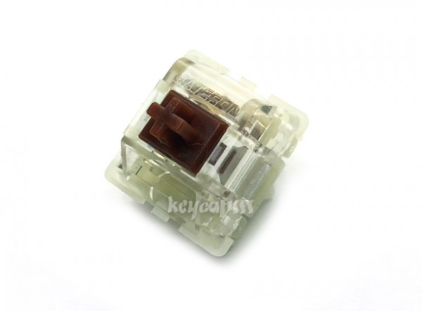 Gateron silent switch brown transparent keyboard brown