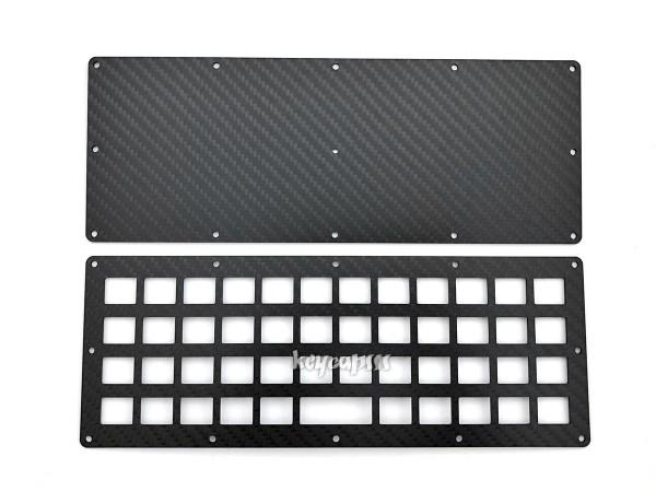 Planck compatible Carbon Plate Case - sandwich style