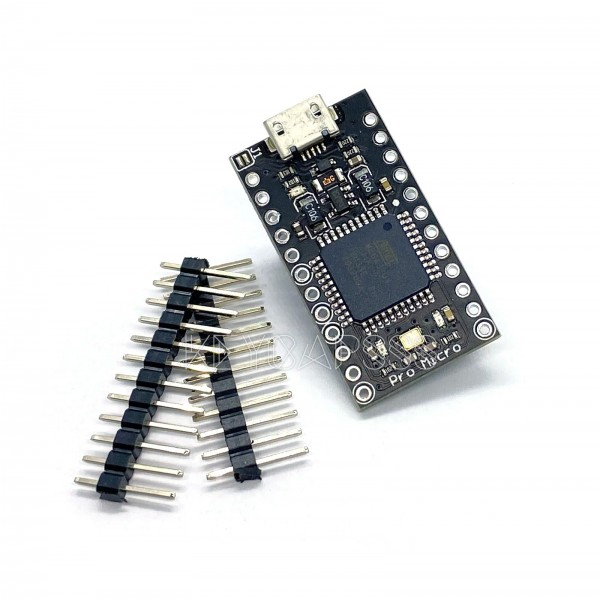 Pro Micro 5V 16mHz (3-18V Black Version)