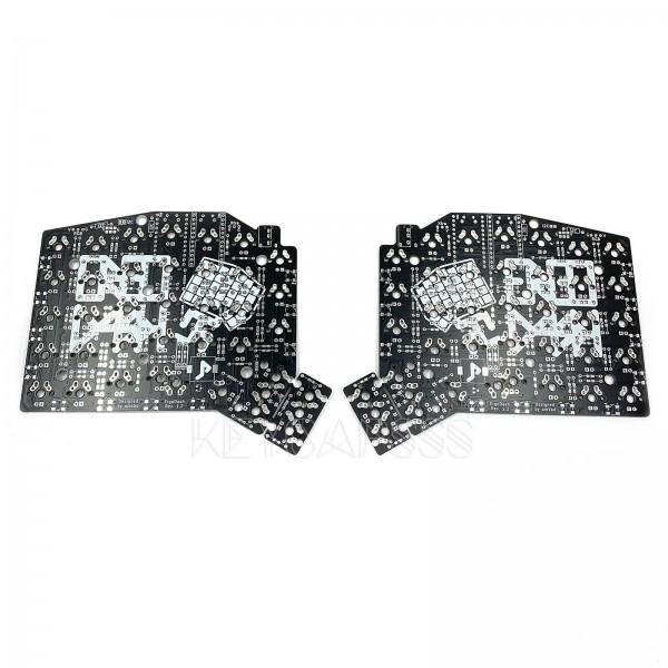 ErgoDash Mechanical Split Keyboard PCB Black MX
