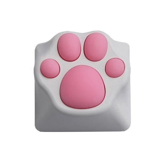 Kitty Paw Artisan Keycap - Cat Aluminum