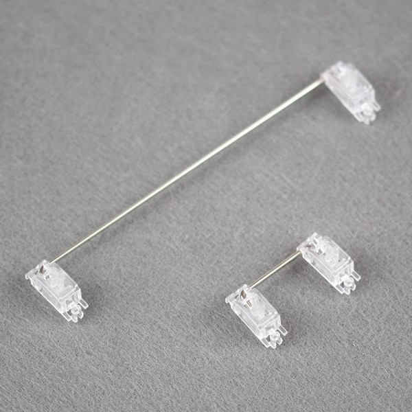 transparent pcb stabilizers 2u 6.25u